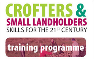 Crofters and Small Landowners Skills for the 21st Century – 2011/12