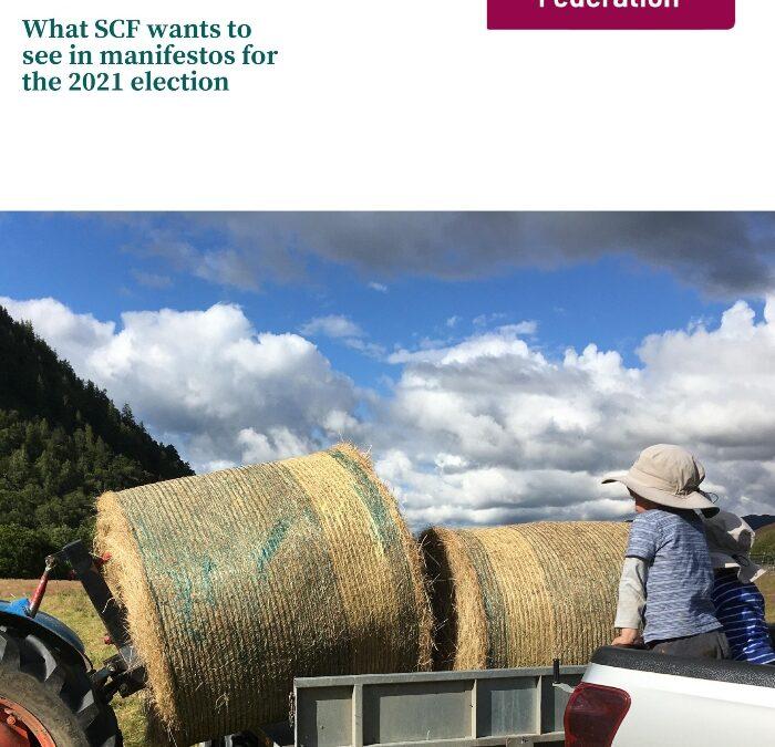 SCF Proposals for Manifestos 2021